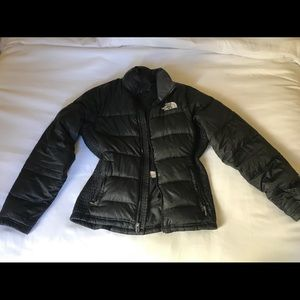 Black Puffer Jacket from The North Face